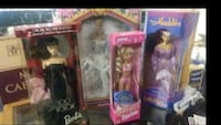 Two boxes of collector Barbies from 1990-1996 Portland, 97233