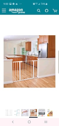 NEW Baby Gate - Tall and Wide  Baltimore, 21224