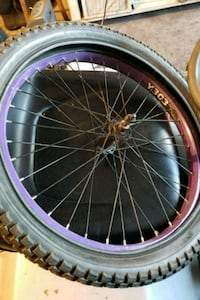 Bmx front rim and tire  Patterson, 12563
