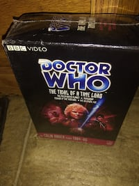 DOCTOR WHO  4 DVD's Videos The Trial of A Time Lo Augusta