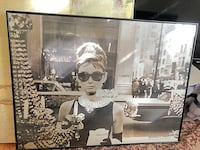 Framed Movie poster - Audrey Hepburn in Breakfast at Tiffany's Alexandria, 22302