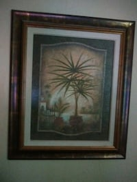 REDUCED..Beautiful pic n frame 21wX25h