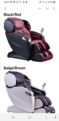 Used Cozzia Cz 710 Qi Se Zero Gravity Massage Chair For