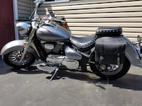 black and gray touring motorcycle East Rochester, 14445