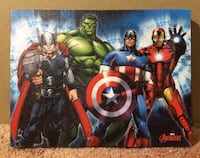 "Marvel Avengers ""Group Lineup"" Canvas Picture 2381 mi"
