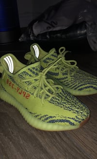 Adidas Yeezy Boost 350 V2 - Semi Frozen Yellow