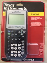 Black Texas Instruments TI-84 Plus CE Toronto, M3A 1V6