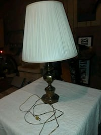 brown and white table lamp Tulsa, 74128
