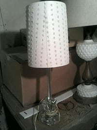 white and gray table lamp Coloma, 49038