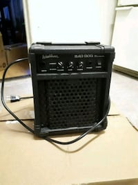 black and gray guitar amplifier Hamilton, L8L 1V3