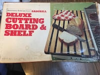Barbaque Grill Deluxe Cutting Board and Shelf