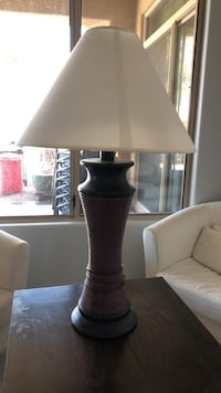 White and gray table lamp Scottsdale, 85260