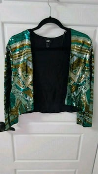 green, black, and brown floral cardigan Edmonton, T6W 0S4