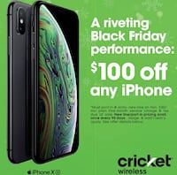 $100 off any iPhone when you switch Boston, 02122