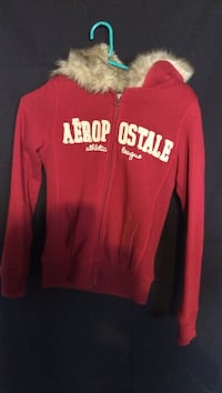 Sz. s aeropostale zip up fur hoodie West Allis, 53214
