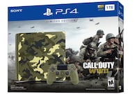 PS4 Call of Duty WWII system