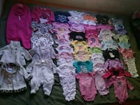 Girls 0-3month Clothing Lot - 88 Items   Eagle, 83616