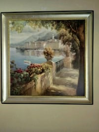 Large Wall Art Italian Seascape Hockley, 77447