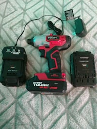 Impact drill ,3 batteries and charger Laurel