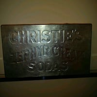 VINTAGE: Christie's Zephyr Cream Soda Tin Box 1920s / 1930s  Cool vint Edmonton, T6X 1J9