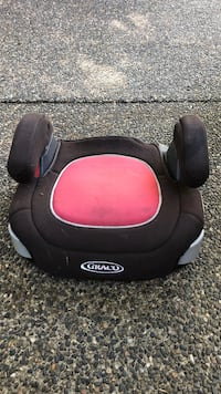 black and red Graco booster seat Langley, V3A 3A2