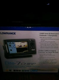 Lowrance Elite-7 chirp fish finder. In box new Catonsville, 21228