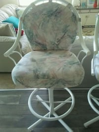 white and gray floral padded chair Bradenton, 34207