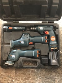 Black and red cordless power drill Stockton, 95202