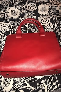 Red Vittoria Napoli made in Italy genuine leather