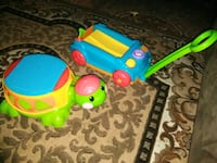 toddler's green and blue plastic toy Stockton, 95206