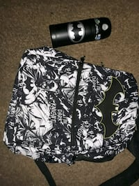 Batman backpack and thermos Norman, 73071