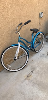 blue and white cruiser bicycle Ontario, 91761