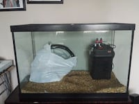 65 gal. fishtank and many other accessories  Kitchener, N2R 0A4