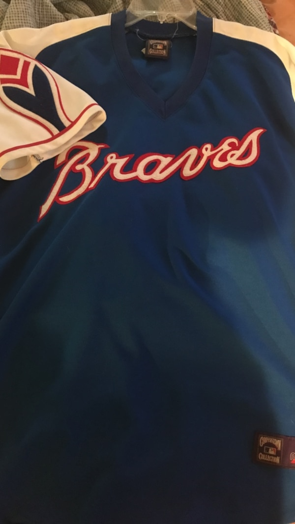 cd7b955be Used XL Authentic Vintage Atlanta Braves Jersey for sale in ...
