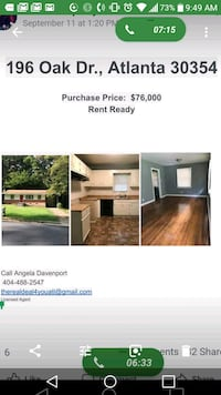 HOUSE For Sale 3BR Atlanta