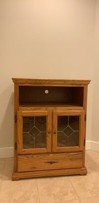 brown wooden cabinet with shelf Fairfax, 22032