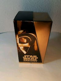 Starwars trilogy VHS special collectors edition  1359 mi
