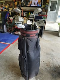 Ladies graphite clubs used once. Bag included Houston, 77065