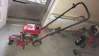 red and black edger