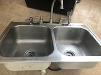 stainless steel sink with faucet Fairfield, 04937