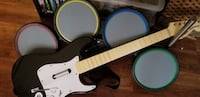 Rock-band Guitar and drums... not sure If it came with cords because it is wireless.. So as is... And no stand for drums it got broke moving Glen Burnie, 21060