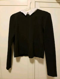 Zara black collared sweater size m Toronto, M5A 2Z5