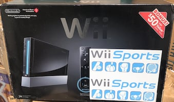 Pre-Owned Nintendo Wii System -Original with GAMES.