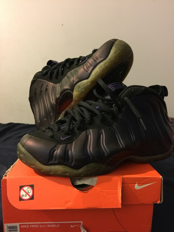 b2f10ee8db3 Nike air foamposites penny hardaway eggplants. HomeOther used items in ...