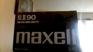 Maxwell audio cassettes