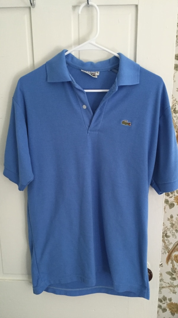 buy popular 3b811 584b4 Blue Lacoste polo shirt