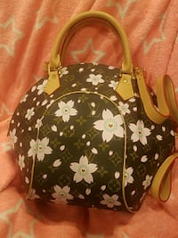 black and white floral backpack Monrovia, 91016