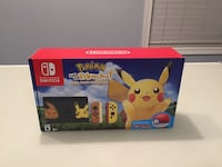 Nintendo Switch Console Bundle - Pikachu and Eevee Edition with Pokemon: Let's Go, Pikachu! + Poke Ball Plus  Bethesda, 20817