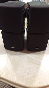 Two black bose multimedia speakers Springfield, 22152