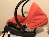 baby's red and black car seat carrier Arlington, 22204